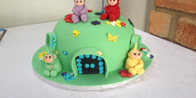 Cake Teletubbies