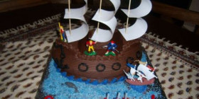 Pirate_Ship_3D_Cake