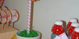 Lollipop Topiary tree 01